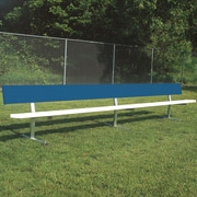Bison Sports All Aluminum Portable Player Bench; 90'' L