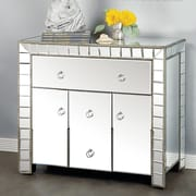 Statements by J Troty 3 Drawer Mirrored Chest