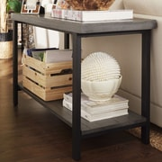 Kingstown Home Enzo Console Table; Gray