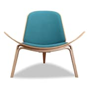Kardiel Tripod Plywood Modern Lounge Chair; Urban Surf