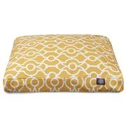Majestic Pet Athens Rectangle Pet Bed w/ Waterproof Denier Base; Small (27'' L x 20'' W)