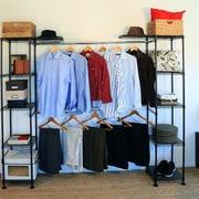 Seville Classics 72''H x 83''W x 14''D Expandable Closet Organizer