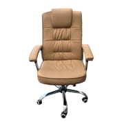 Winport Industries High-Back Leather Executive Office Chair with Arms