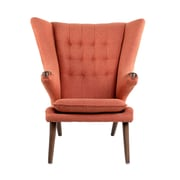 NyeKoncept Bjorn Arm Chair; Retro Orange