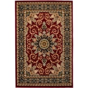 Rug and Decor Inc. Summit Burgundy Area Rug; 2' x 3'