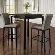 Amisco 3 Piece Counter Height Pub Table Set