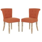 angelo:HOME Lexi Side Chair (Set of 2); California Vintage Orange