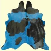 Bellaire Dynamik Dairy Handmade Blue/Black Area Rug