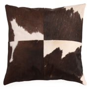Foreign Affairs Home Decor Vache Cow Hide Throw Pillow