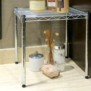 Seville Classics 15'' Small Stacking Kitchen Shelving Rack