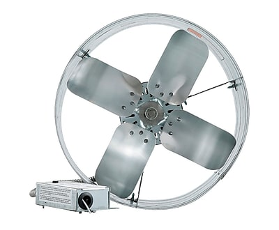 iLIVING Gable Mount Attic Fan w/ Adjustable Thermostat WYF078278819115