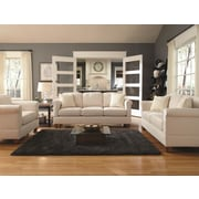 Simplicity Sofas Megan Quick Assembly Chair and a Half; Marine