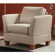 Simplicity Sofas Lorelei Solid Oak Quick Assebly Arm Chair; Marine