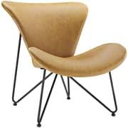 Modway Glide Lounge Chair; Tan