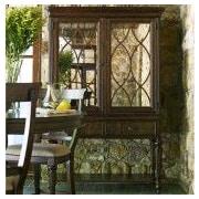 Legacy Classic Furniture Barrington Farm 16 Bottle Floor Wine Cabinet