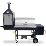 Pitts and Spitts 24'' x 36'' Ultimate Smoker & Grill with Upright Smoke Box