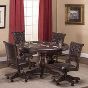 Hillsdale 54'' Chiswick 5 Piece Game Table Set