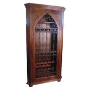 MOTI Furniture 30 Bottle Floor Wine Cabinet