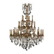 Worldwide Lighting Windsor 45 Light Crystal Chandelier