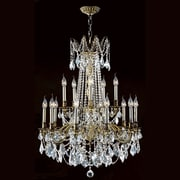 Worldwide Lighting Windsor 15 Light Crystal Chandelier