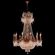 Worldwide Lighting Winchester 18 Light Crystal Chandelier