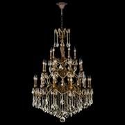 Worldwide Lighting Versailles 25 Light Crystal Chandelier
