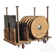 Midas Event Supply Rack Stack N  Go Pedestal Tables Cart