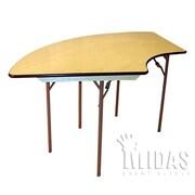 Midas Event Supply Elite Folding Table; Small