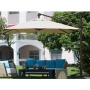 Abba Patio 10' Deluxe Square Offset Cantilever Umbrella