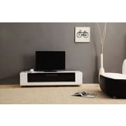 B-Modern Editor Remix Mini TV Stand; White