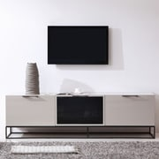 B-Modern Animator TV Stand; Cream