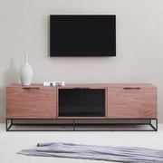 B-Modern Animator TV Stand; Walnut