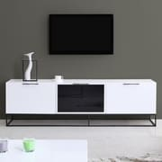 B-Modern Animator TV Stand; White