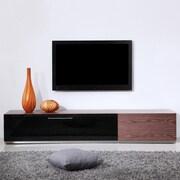 B-Modern Producer TV Stand; Walnut