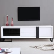 B-Modern Entertainer TV Stand; White