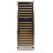 Kucht Professional 166 Bottle Dual Zone Built-In Wine Refrigerator