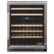 Kucht Professional 48 Bottle Dual Zone Built-In Wine Refrigerator