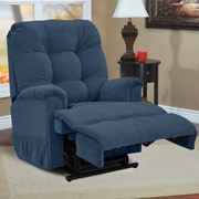 Med-Lift Wall-a-Way Wide Reclining Lift Chair; Montego Navy
