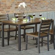 Elan Furniture Loft 5 Piece Dining Set; Chocolate Spice