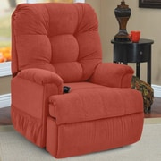 Med-Lift Petite Wall-a-Way Reclining Lift Chair; Montego Persimmon