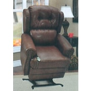 Med-Lift Wall-a-Way Reclining Lift Chair; Fabric - Palance Chestnut