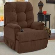Med-Lift Petite Sleeper Reclining Lift Chair; Montego Chocolate