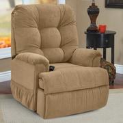 Med-Lift Petite Sleeper Reclining Lift Chair; Montego Latte