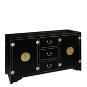 TVLIFTCABINET, Inc Dynasty TV Stand; Antique Black