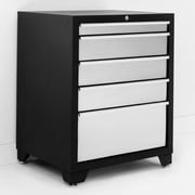 NewAge Products Pro Stainless Steel 28'' W 5 Drawer Bottom Cabinet