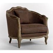 Zentique Inc. Maison Love Arm Chair; Aubergine