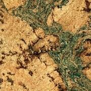 Albero Valley 11-7/8'' Cork Hardwood Flooring in Burl with Green Tones