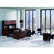 Conklin Office Furniture 8-Piece U-Shape Desk Office Suite