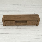 Urban Woodcraft Knightsbridge TV Stand; Dark Wood