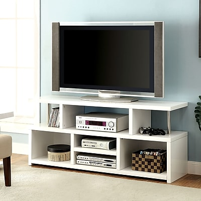 Hokku Designs Karl TV Stand; White
